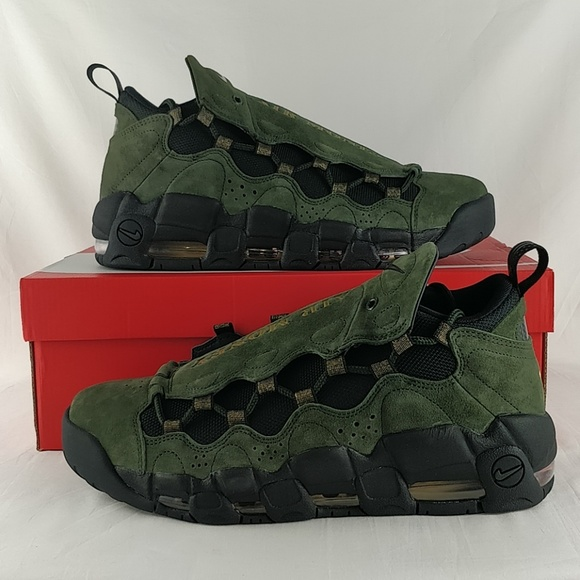 2e1142d291d97 Nike Air More Money QS US Dollar Green AJ7383-300